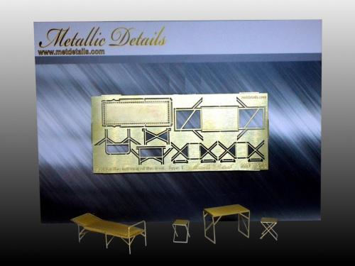 News Metallic Details Md7209