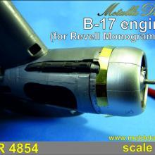 MDR4854 B-17. Engines