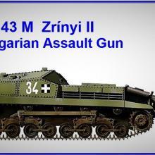 1607 43M Zrinyi II Hungarian Assault Gun