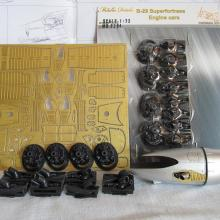 MD7204 Detailing set for aircraft model B-29. Engine cars