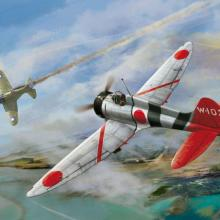 D5-02 IJN Type 96 carrier-based fighter IV A5M4 Claude 1/48