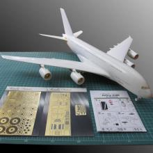 MD14418 Detailing set for aircraft model Airbus A380