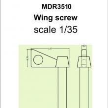 SMDR3510 Wing screw