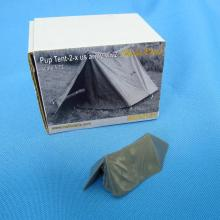MDR7231 U.S. WWII Pup tent 2 x