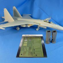 MD4827 Su-35. Air intakes