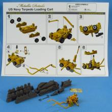 MDR4846 U.S. Navy torpedo loading cart