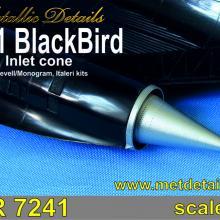 MDR7241 SR-71 Blackbird. Inlet cone