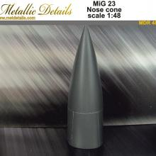 MDR4802 Nose cone for model aircraft MiG-23