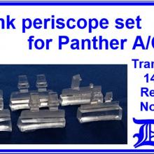 35146 Tank periscope set for Panther A/G/F