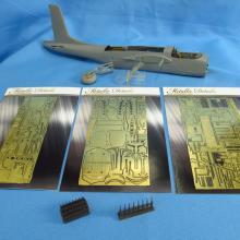 MD4842 Detailing set for aircraft model B-26 Invader