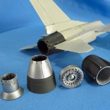 MDR4863 F-16. Jet nozzle for engine F110 (closed)