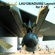 MDR4805 LAU-128/ADU-552 Launcher set for F-15