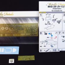 MD7206 Detailing set for aircraft model MiG-29