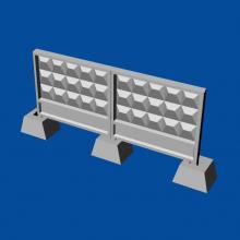 MDR14403 Russian concrete fence PO-3
