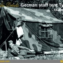 MDR7209 German staff tent type 1