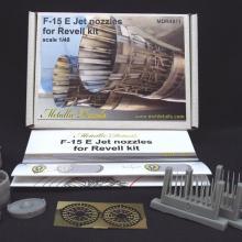 MDR4811 F-15 E. Jet nozzles