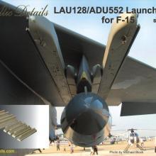 MDR7203 LAU-128/ADU-552 Launcher set for F-15