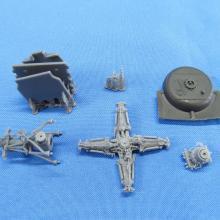 K4808 F-14A Tomcat. Exhaust nozzles Closed
