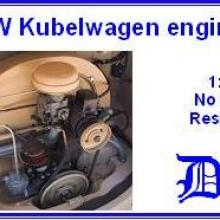 3510 VW Kubelwagen engine