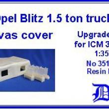 35103 Opel Blitz 1.5 ton Upgrade set for ICM 35401