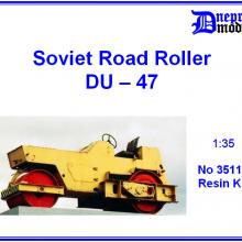 35110 Soviet Road Roller DU-47