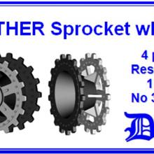 35135 Panther Sprocket wheels