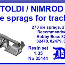 35144 Toldi/Nimrod Ice sprags for tracks