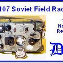 3519 Soviet R-107 field radio