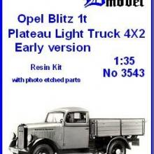 3543 Opel Blitz 1t Plateau Early version