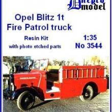 3544 Opel Blitz 1t Fire patrol truck