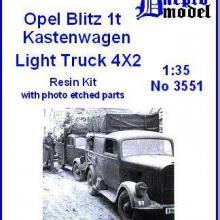 3551 Opel Blitz 1t Kastenwagen