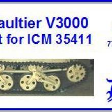 3559MT Ford Maultier V3000 Detail set for ICM 35411