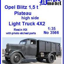 3566 Opel Blitz 1,5t Plateau high side