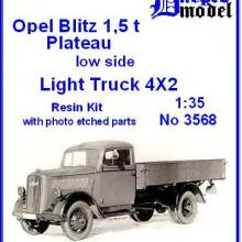 3568 Opel Blitz 1,5t Plateau low side
