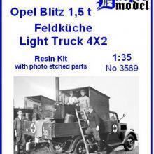 3569 Opel Blitz 1,5t Feldküche