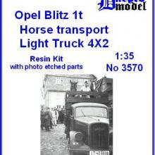 3570 Opel Blitz 1t Horse transport
