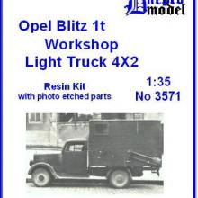3571 Opel Blitz 1t Workshop