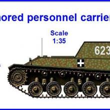 3576 Armored personnel carrier