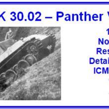 3580 VK 30.02 - Panther V1 Detail set for ICM 35342