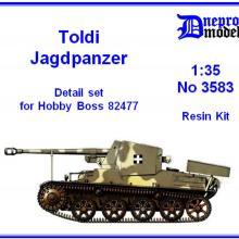3583 Toldi Jagdpanzer Detail set for HobbyBoss 82477