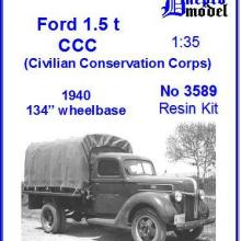 3589 Ford 1.5 ton CCC (Civilian Conservation Corps) 1940