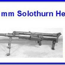 3591 36 M 20 mm Solothurn Heavy rifle