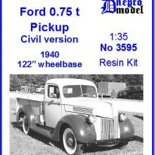 3595 Ford 0.75 ton Pickup Civil version 1940